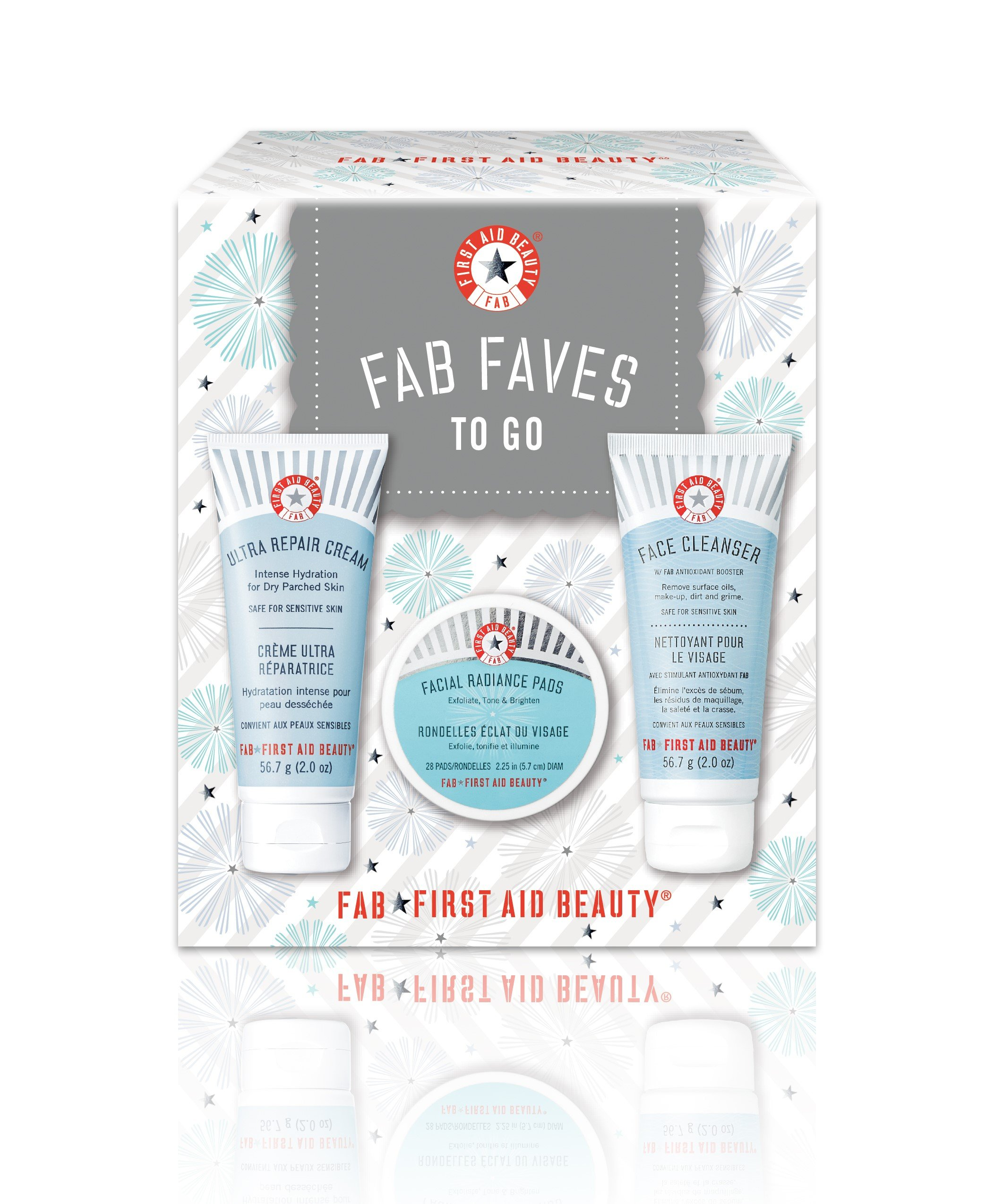 First Aid Beauty FAB Faves to Go Kit by First Aid Beauty