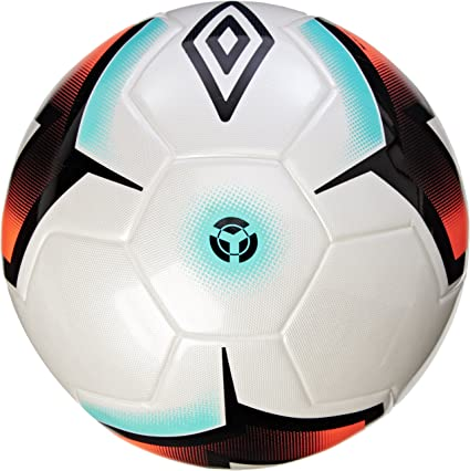 Umbro Neo Pro TSBE – Balón de fútbol, Color Blanco/Negro/Fiery ...