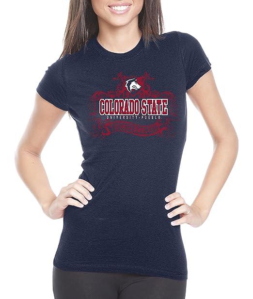 low priced f813b bbb31 NCAA Colorado State Pueblo Thunderwolves Womens Prius2 Long Body Classic  T-Shirt