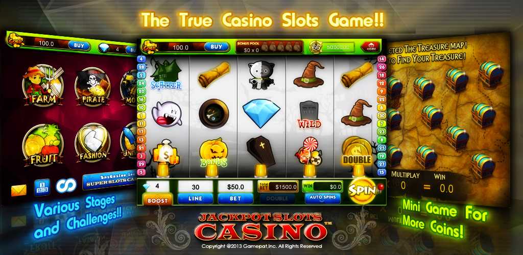 Amazon.com: Jackpot Slots Casino - Best Free Slot Machine Games For Kindle:  Appstore for Android