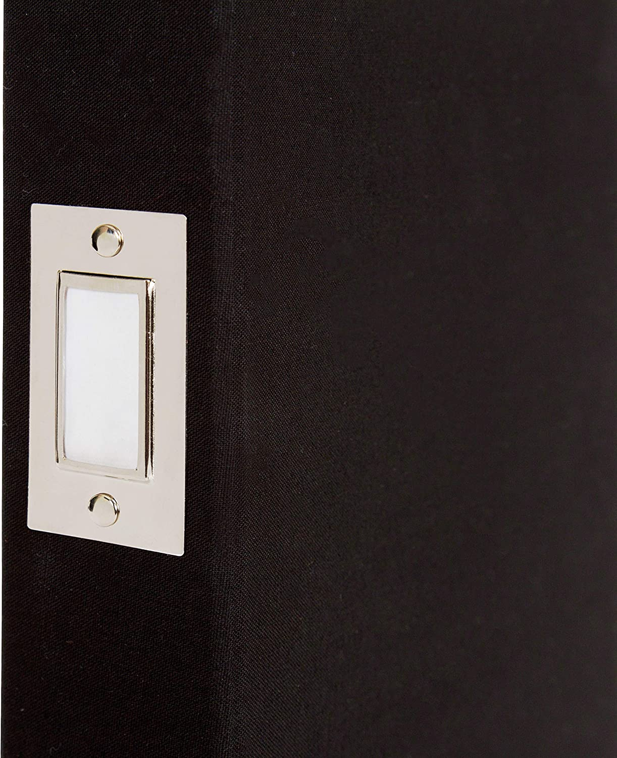 """4/"""" x 6/"""" sleeves Photo Album with engraving plate Ivory colour faux leather."""