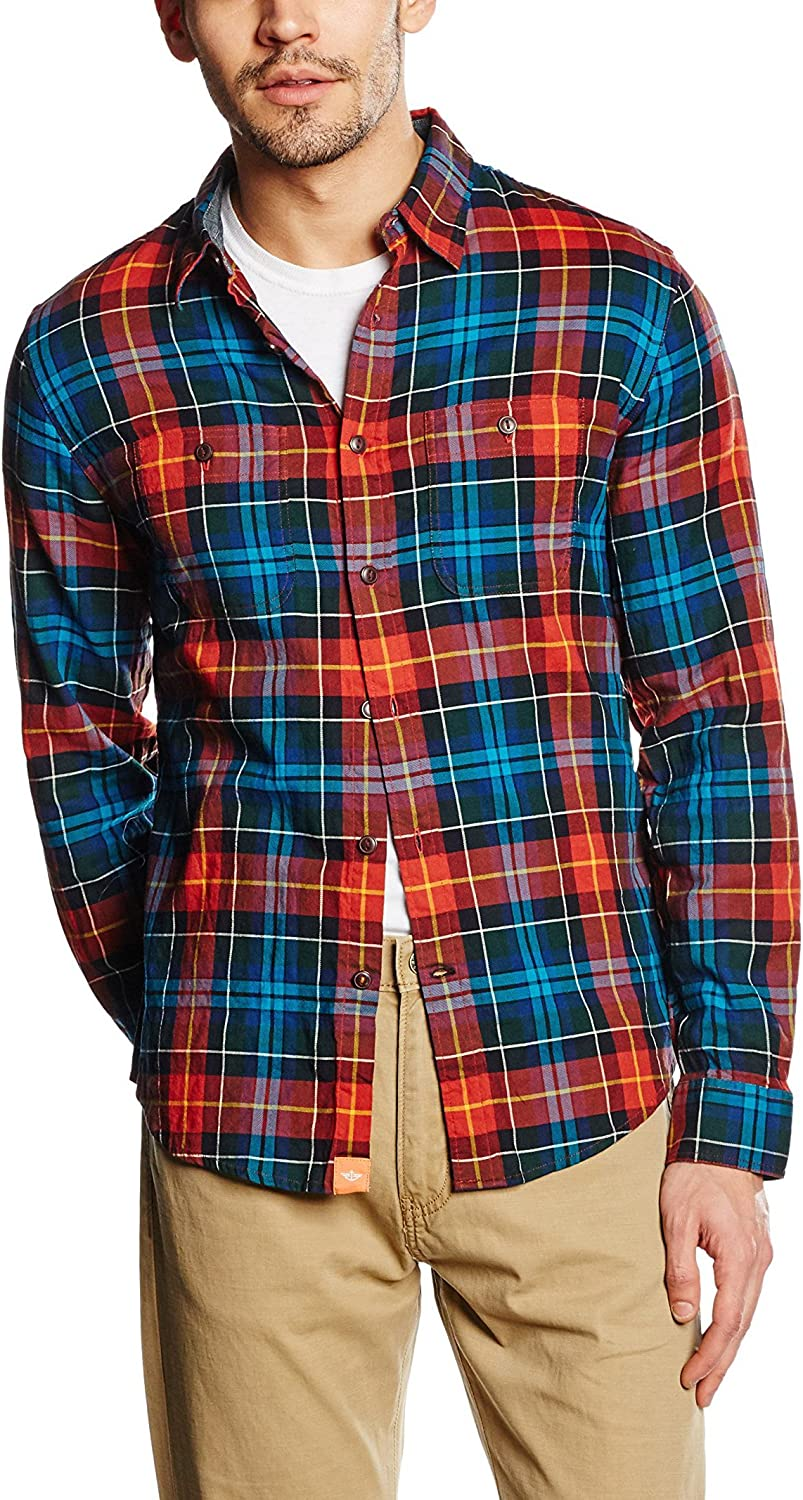 dockers The Alpha Wrinkle Twill Shirt Camisa para Hombre ...