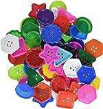 Roylco Inc. Really Big Buttons 60/Pkg.