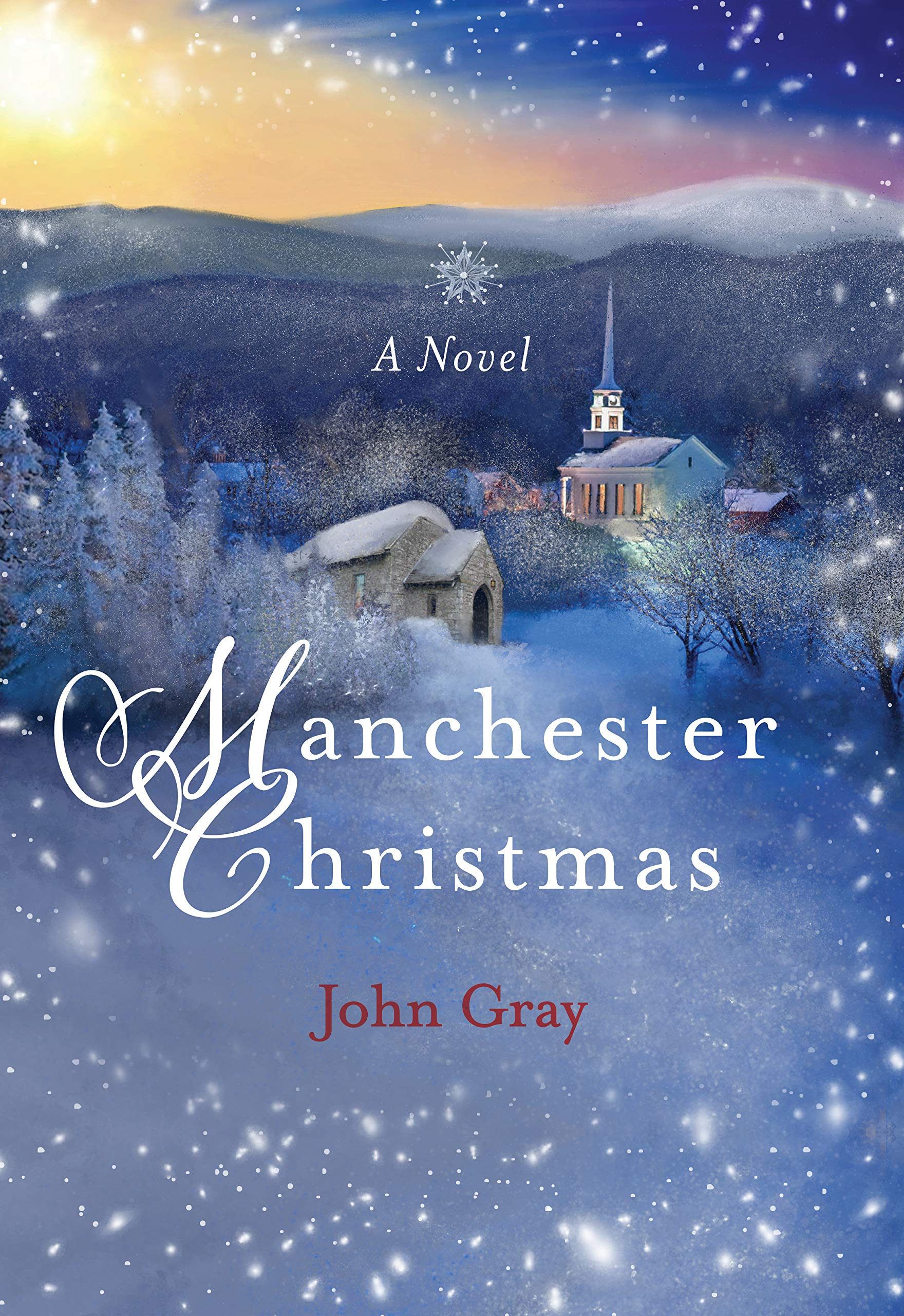 Manchester Christmas Book Cover