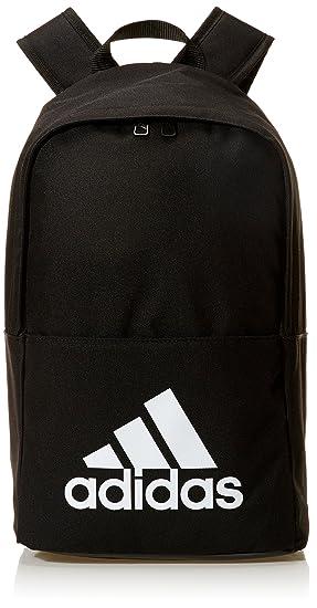 adidas Classic BP Mochila, Unisex Adulto, Negro/Blanco, 25 cm: Amazon.es: Deportes y aire libre