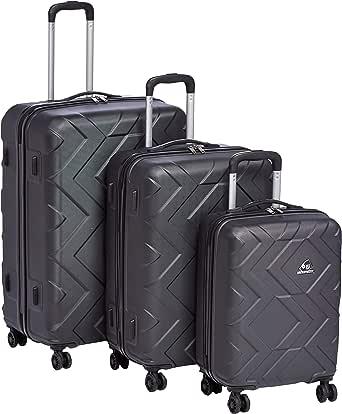 كاميلينت حقائب سفر بعجلات 3 قطع , اسود , DJ139004-BLACK