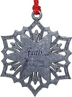 product image for Gloria Duchin Christmas Ornament - Snowflake of Faith