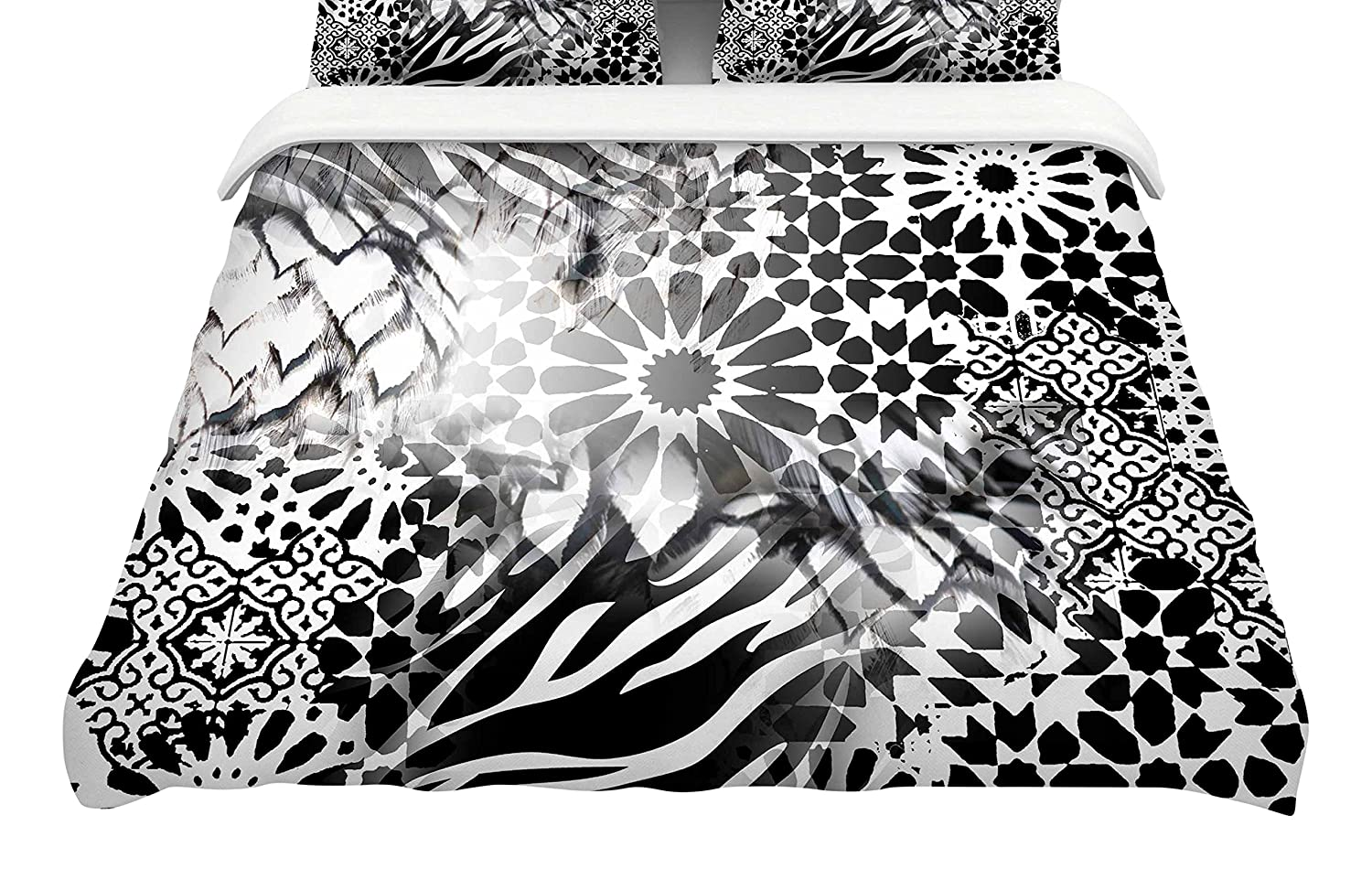 Kess InHouse Victoria Krupp Out of Morocco Featherweight Queen Duvet Cover, 88 x 88,