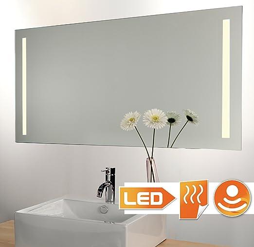 Badspiegel Led Beleuchtet Mit Sensor Und Heizung 120 X 60 Cm Amazon