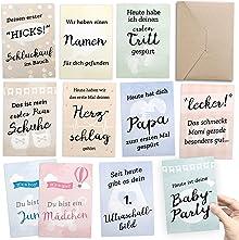Geschenk zur Schwangerschaft: 30+1 Meilenstein Foto- und Erinnerungs-Karten - Milestone Fotos mit Schwangerschaftstagebuch - inkl. Geschenkbox und Glückwunsch-Karte - DIN A6 Postkartenformat