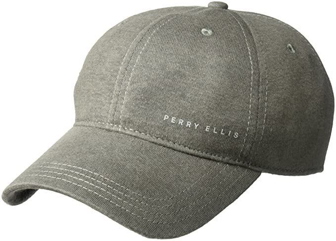 1f1be8c126a Amazon.com  Perry Ellis Men s Jersey Linen Baseball Cap