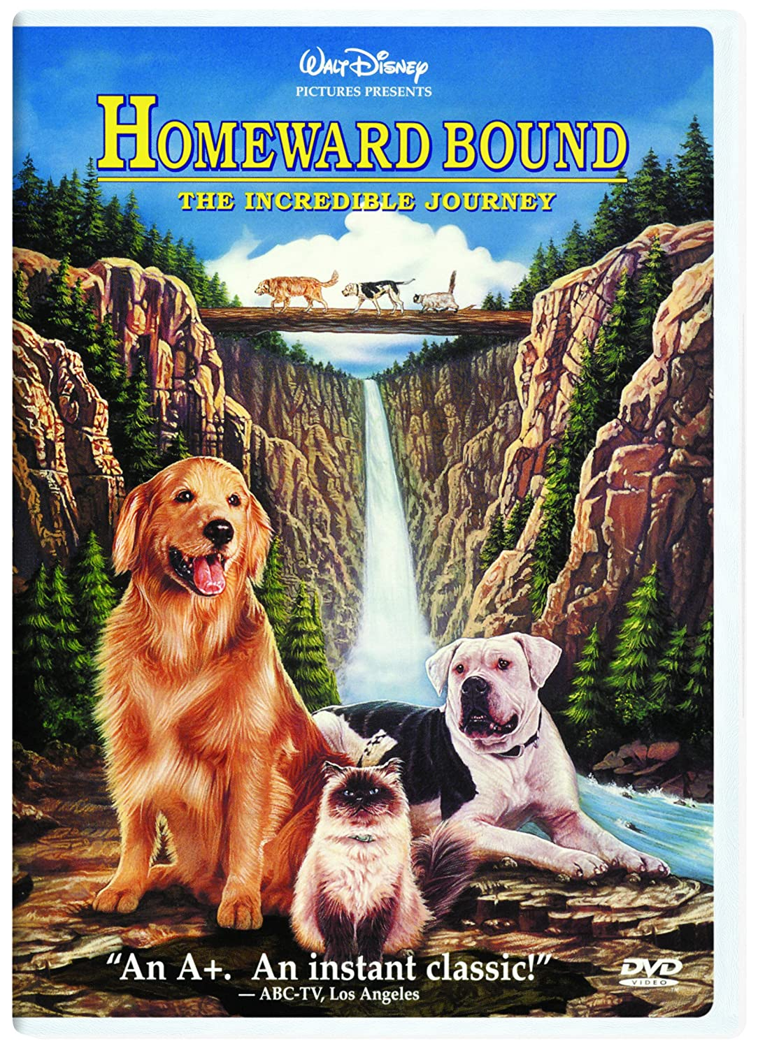 「Homeward Bound: The Incredible Journey」の画像検索結果