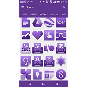 PURPLE - Icon Pack: Amazon ca: Appstore for Android