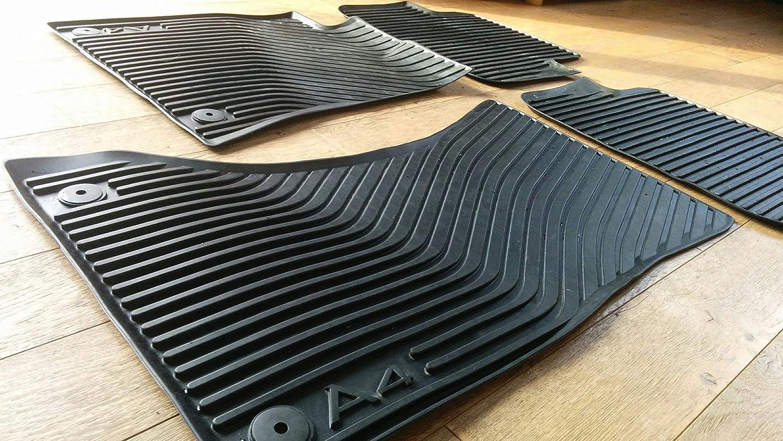 Original Audi Ersatzteile Audi A4 8k Gummi Fußmatten 4 Teilig Original Zubehör Vorn Hinten Auto