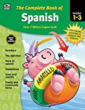 Carson Dellosa | Complete Book of Spanish Workbook for Kids | 416pgs