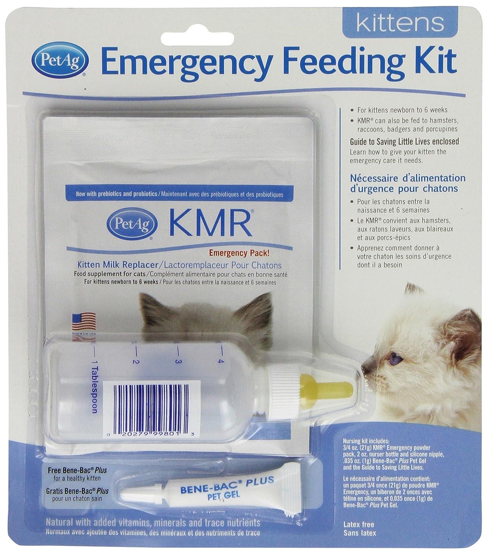 Petag Chaton Milk replacer (KMR) d'urgence kit d'alimentation pour Pet Ag Products 99528