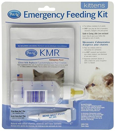petag Gatito Leche sustitutos (KMR) de alimentación de Emergencia