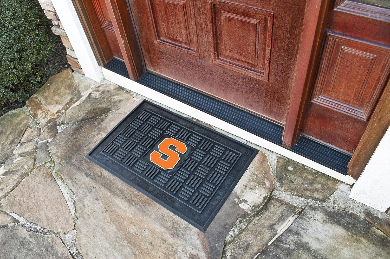 FANMATS NCAA Syracuse University Orange Vinyl Door Mat