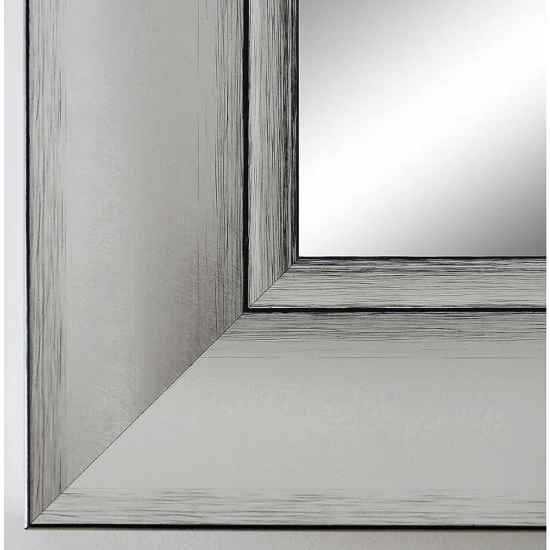 Online Galerie Bingold Spiegel Wandspiegel Badspiegel - Bochum 6,9 - Silber - 200 Größen zur Auswahl - Handgefertigt - 50 x 60 - FM - Modern, Shabby, Vintage