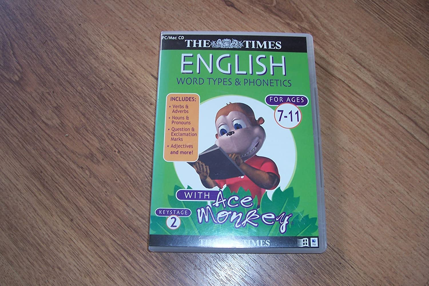 ACE MONKEY ENGLISH WORD TYPES AND PHONETICS: Amazon co uk