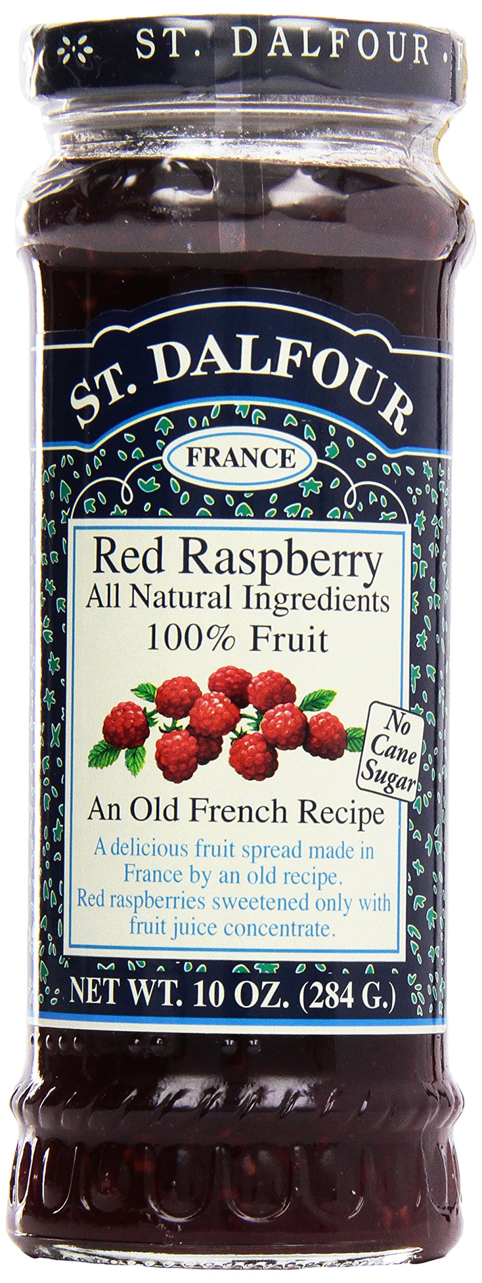 St. Dalfour, Preserves, Red Raspberry, 10 oz by St. Dalfour