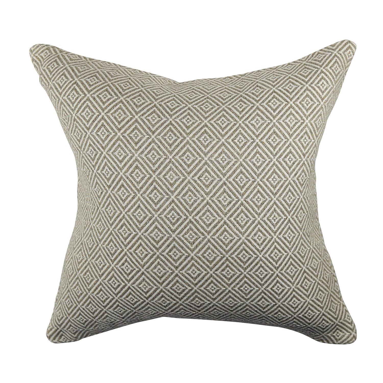グレー幾何学模様デザイナーThrow枕 20