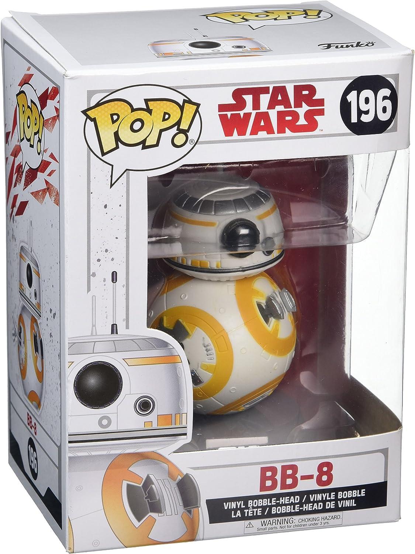 Star Wars SW-EP8 Figura de Vinilo Pop 5: A Character, Episodio 8, 10 cm (Funko 14746)