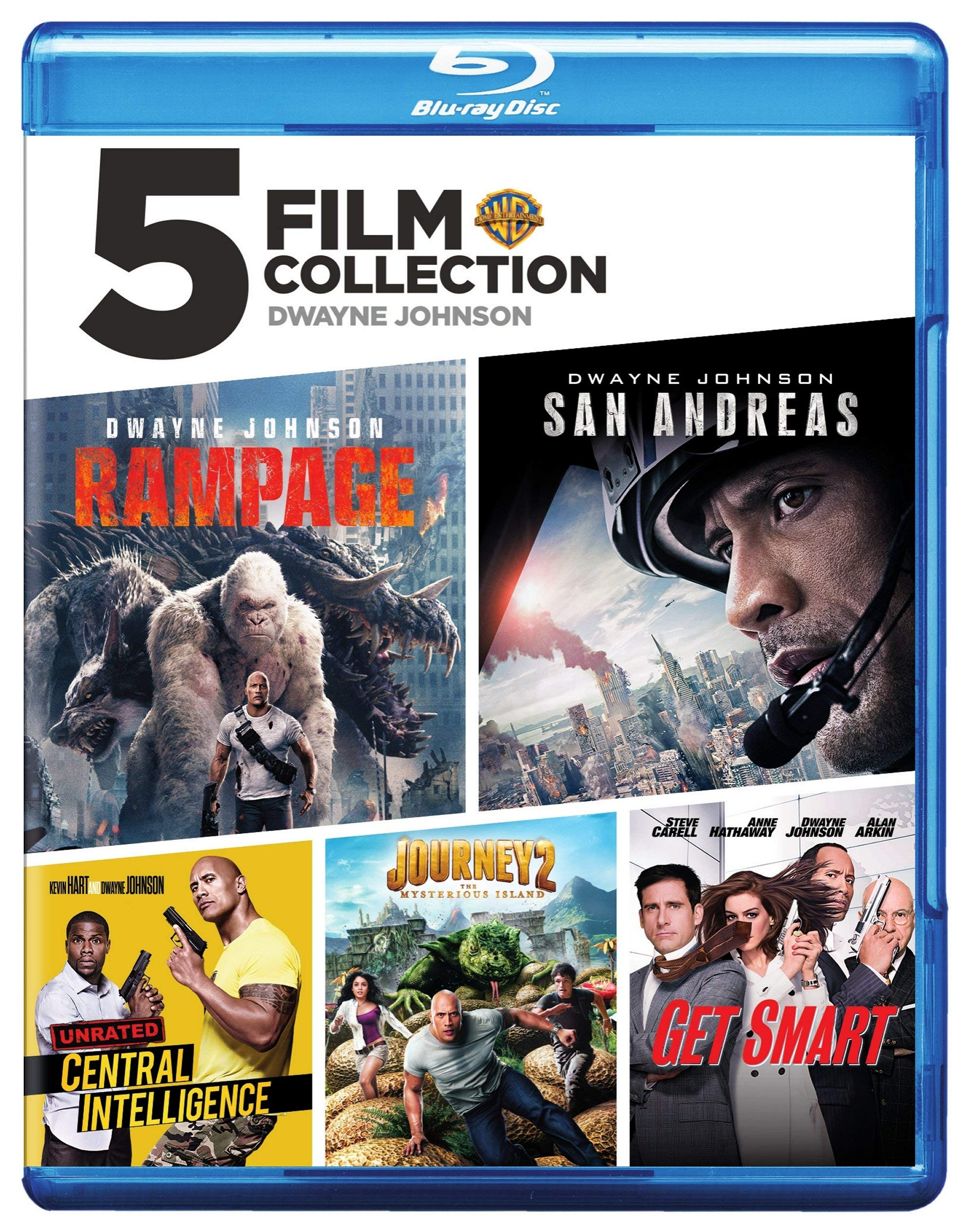 Blu-ray : The Dwayne Johnson: Collection (Boxed Set, Eco Amaray Case)