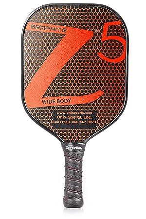 Onix - Pala de pickleball de grafito Z5 - KZ1500-RED, Large, Rojo: Amazon.es: Deportes y aire libre