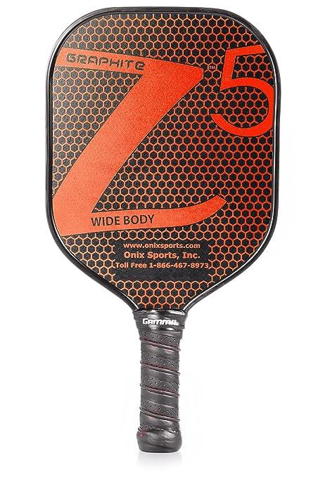 Onix - Pala de pickleball de grafito Z5 - KZ1500-RED, Large ...