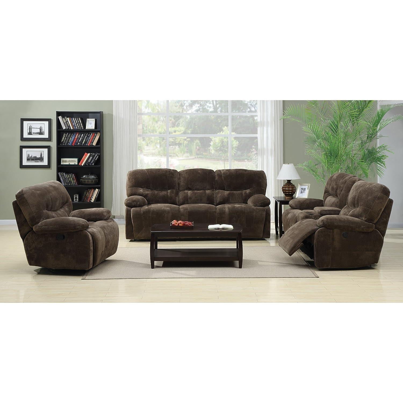 Amazon.com: Emerald Home Furnishings Harrison Motion Sofa With Power ...