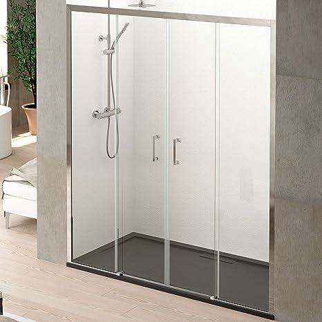 Juego de ducha VBChome color negro 3 tipos de chorro, con barra de ducha