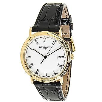 50ebc4cbdce Patek Philippe Calatrava swiss-quartz mens Watch 3944 (Certified  Pre-owned)  Patek Philippe  Amazon.co.uk  Watches