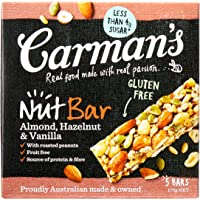 Carman's Nut Bar Almond, Hazelnut & Vanilla, 5-Pack (175g)