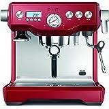 Breville BES920CBXL Dual Boiler Espresso Machine, Cranberry Red