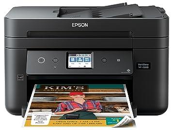 Epson Workforce WF-2860 Impresora a Color inalámbrica Todo ...