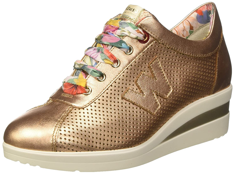 Melluso Donna-Walk, Zapatillas para Mujer 38 EU Rosa (Salmone)