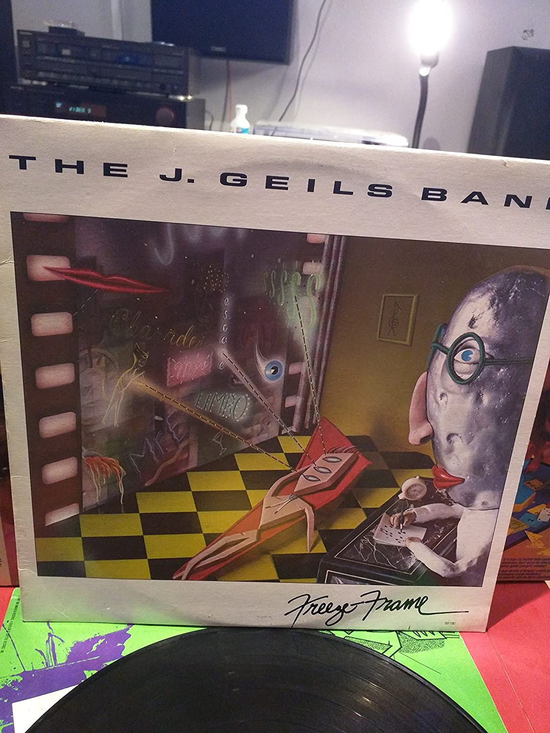 The J. Geils Band - The J. Geils Band: Freeze Frame LP VG++/NM ...