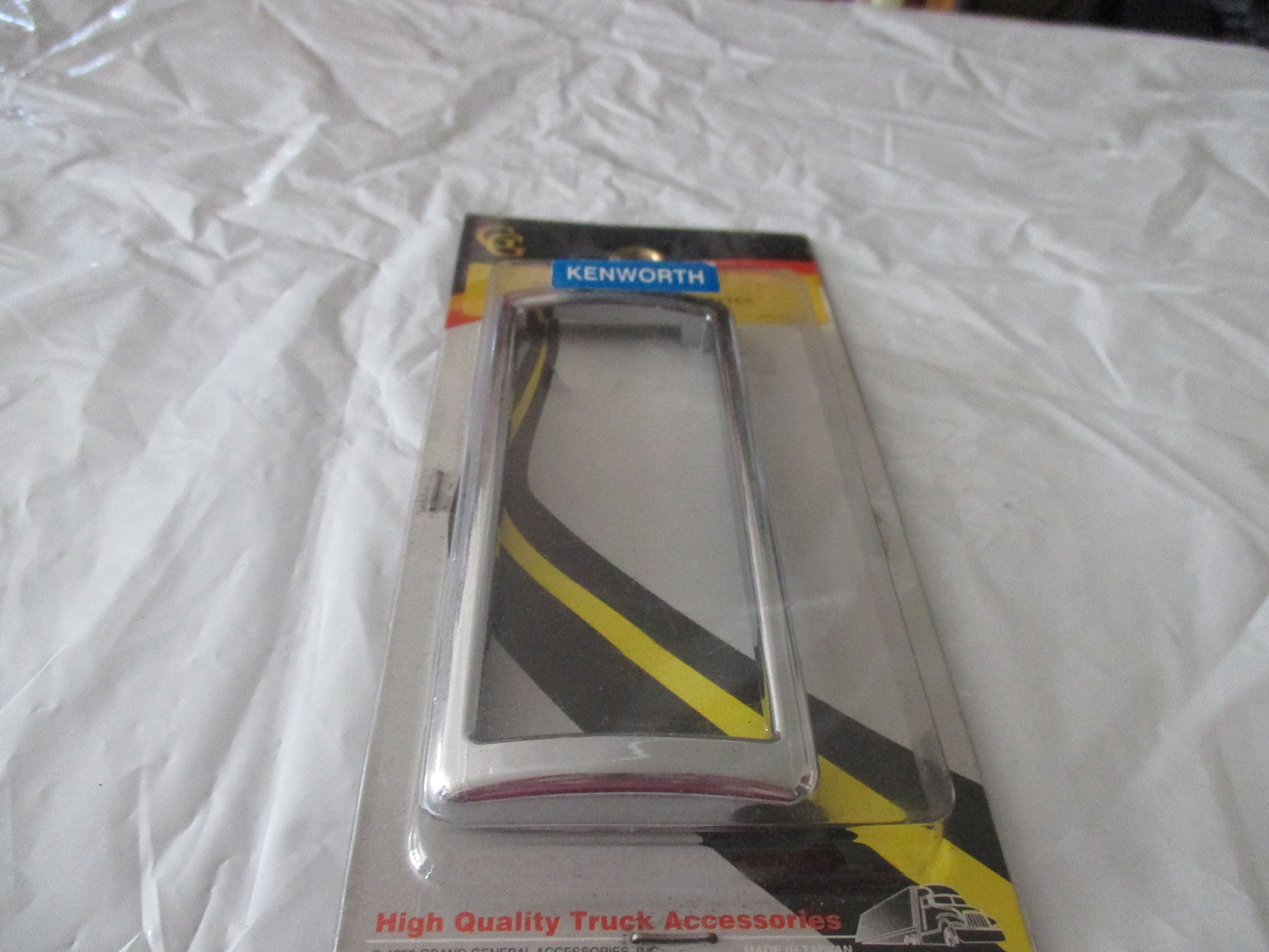 Grand General #68375 Chrome Plastic Ac/Heater Panel Bezel for Kenworth 2003 by Grand General