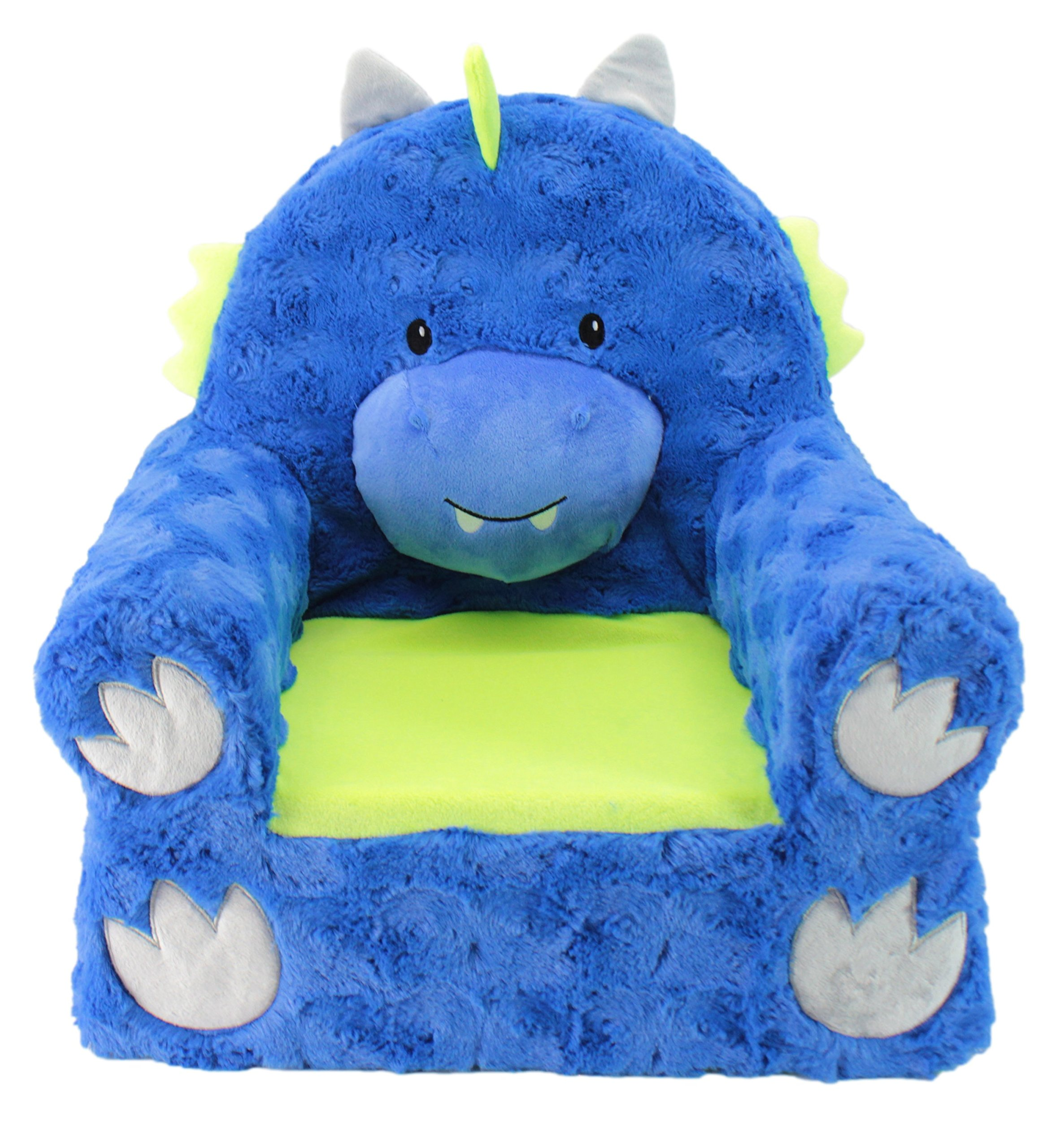 Sweet Seats | Blue Dragon Children's Chair | Large Size | Machine Washable Cover