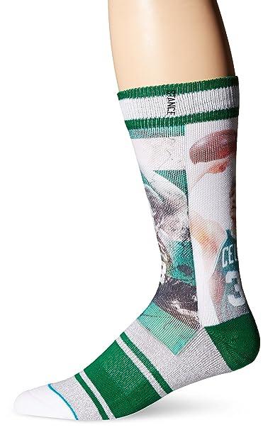 Calcetines Stance de la NBA imagen de Larry Bird, Boston Celtics. leyendas NBA, hombre, Multi-Colored, 42 - 47: Amazon.es: Deportes y aire libre
