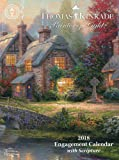 Thomas Kinkade Painter of Light with Scripture 2018 Engagement Calendar