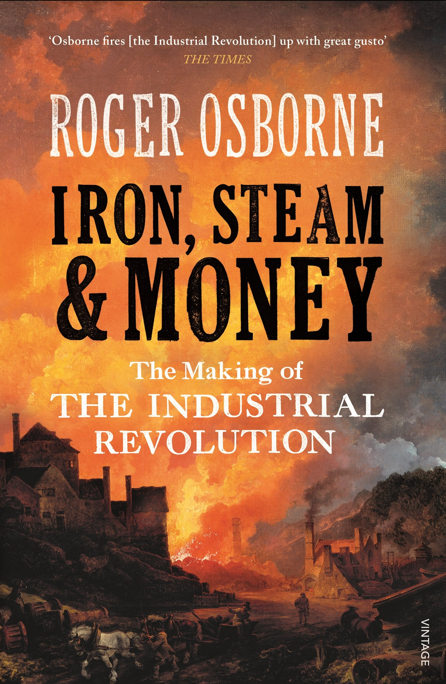 Read Online Iron, Steam & Money: The Making of the Industrial Revolution pdf epub