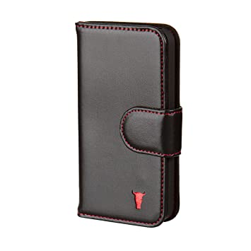 size 40 1238b a513a Torro Cases Premium Leather Wallet Case for iPhone 5/5S
