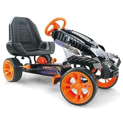 Hauck Nerf Battle Racer Pedal Go Kart, Orange/Grey/Black: Toys & Games