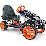 Hauck Battle Racer Pedal Go Kart, Orange/Grey/Black, Anaranjado/Gris/Negro