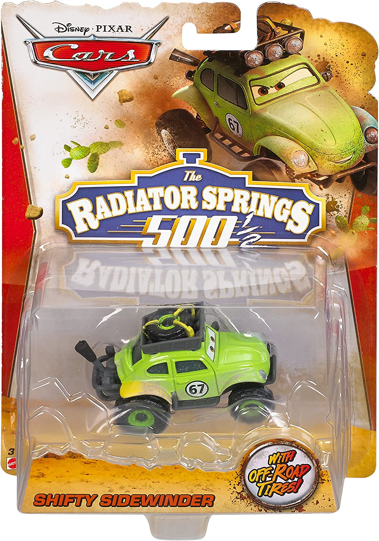Disney Pixar Cars RS500 1//2 Diecast Shifty Sidewinder Voiture V/éhicule Miniature