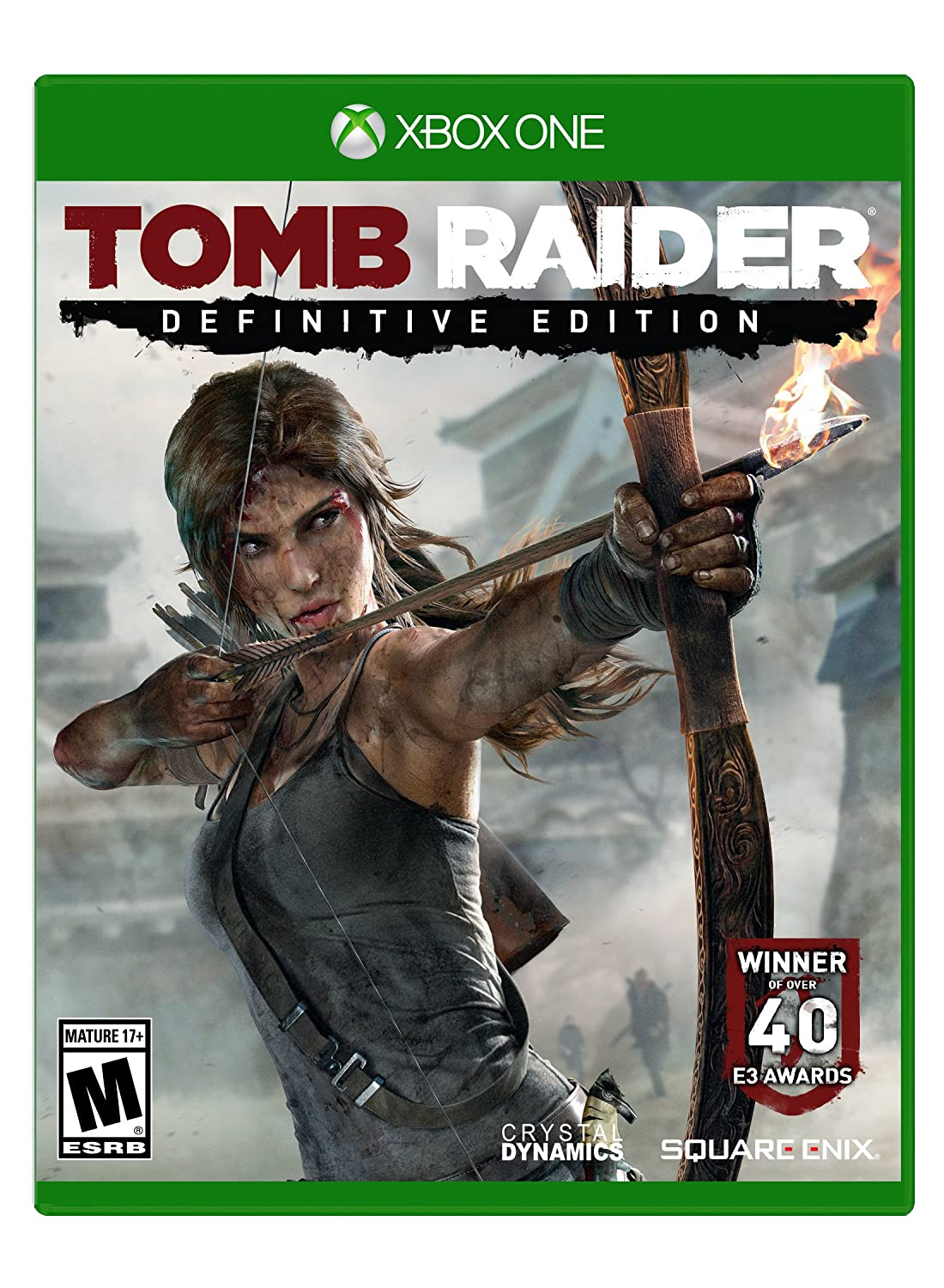 Amazon Com Tomb Raider Definitive Edition Playstation 4 Square Enix Llc Video Games