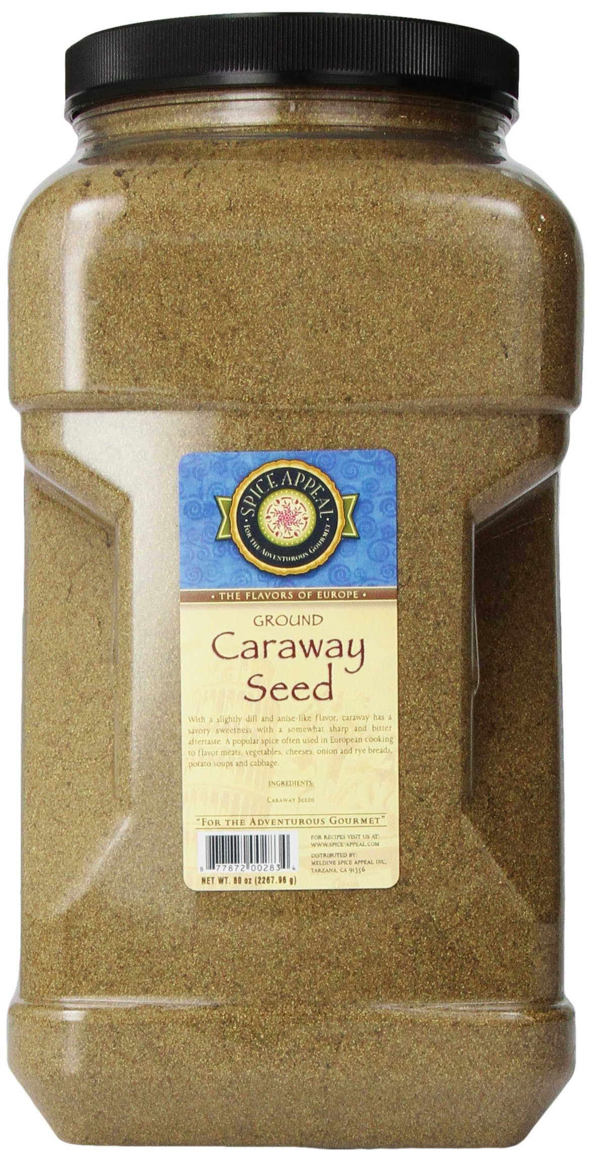 Spice Appeal Caraway Seed Ground, 5 lbs