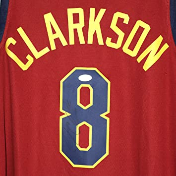 another chance c7aa1 69470 Jordan Clarkson Cleveland Cavaliers Cavs Signed Autographed ...